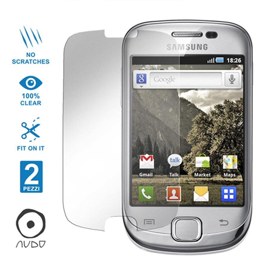 Ultra Clear GALAXY FIT S5670
