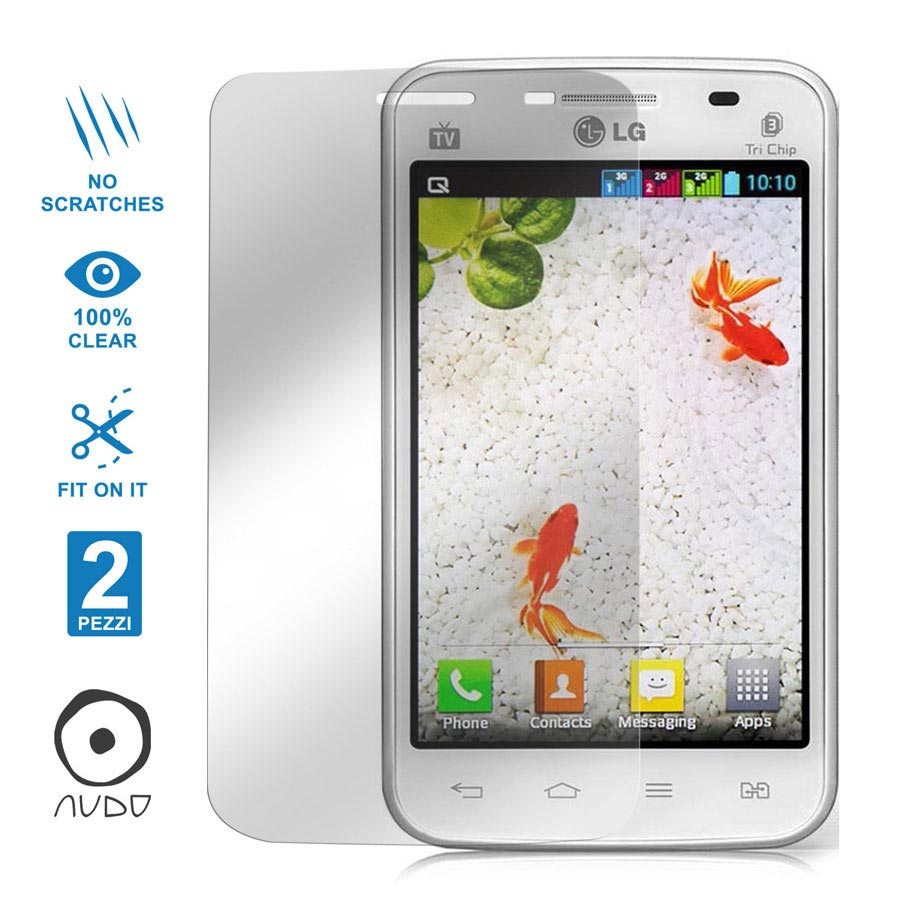 Ultra Clear OPTIMUS L4 II DUAL