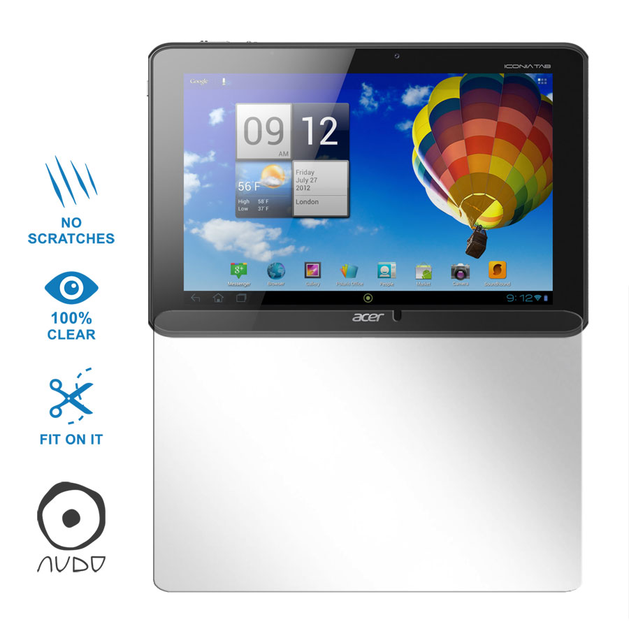 Ultra Clear ICONIA TAB A510
